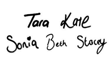Tara, Kate, Sonia, Beth, Stacey